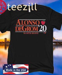 ALONSO DEGROM 2020 New York Baseball Shirt