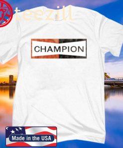 Brad Pitt Shirt Champion 2020