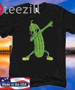 Dabbing Pickle Dancing Cucumber Lover Classic Shirt