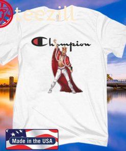 Freddie Mercury King Robe And Crown Champion 2020 Shirts