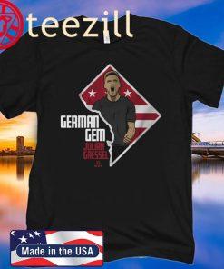 Julian Gressel Shirt - German Gem Officially
