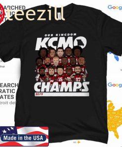 KANSAS CITY FOOTBALL 2020 CHAMPS SHIRT