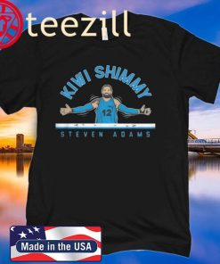 Kiwi Shimmy Steven Adams T-Shirt Limited Edition Official