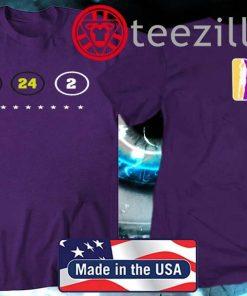 Kobe Bryant Los Angeles Lakers – 8 – 24 -2 Shirt - T Shirt
