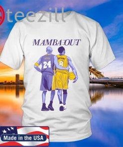 """Kobe Bryant """"Mamba Out"""" T-Shirt"""