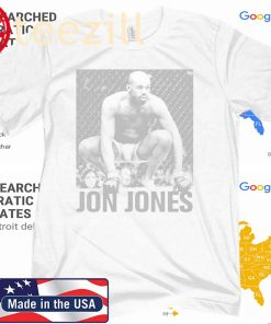 "Jon ""Bones"" Jones ICON Graphic T-Shirt"