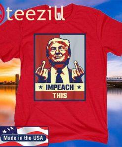 OWIN Trump Gifts for Women Trump Shirt Republican Conservative Impeach This Shirt