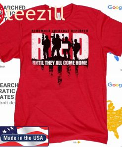 RED Friday 2020 Remember Everyone Deployed Until They All Come Home Tshirt