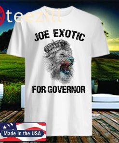 Joe Exotic For Governor Licecend T Shirt