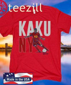 Kaku Shirt New York Soccer - MLSPA Officially Licensed