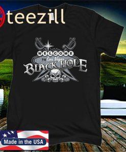 Las Vegas Raiders Fans Welcome to the Black Hole Las Vegas Football T-Shirt