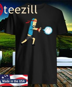 Beavis Kamehameha Toilet Paper Black T-Shirt