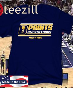 8 Points in 8.9 Seconds Basketball 2020 T-Shirt