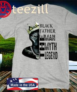 Black Panther Father's Day Shirt The Man The Myth The Legend T-Shirt
