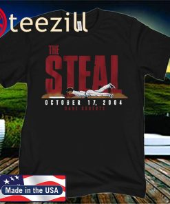 Dave Roberts Shirt, The Steal, Boston - MLBPAA Licensed