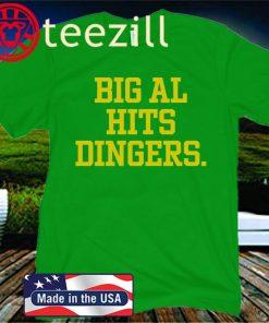 Big Al Hits Dingers 2020 Shirt