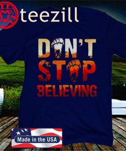 BigFoot Don't Stop Believing Gift Shirt