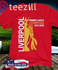 Liverpool 2020 Premier League Champions 19 Fans T-Shirt