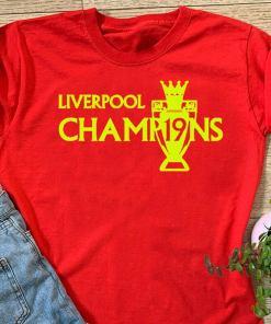Liverpool 2020 Shirt 2020 Champions T-Shirt Premier League Winners, LIVERPOOL CHAMPIONS TROPHY 2020 Tshirt