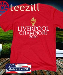 Liverpool Gold 2020 TShirt Champions League Winners 19 Gift Top NEVER GIVE UP!