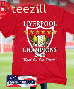 Liverpool back on our perch - Liverpool FC 2020 Shirt