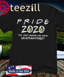 Pride 2020 Friends Shirt, Gay Pride T-Shirt, Funny Pride Tee, Pride Rainbow Print, Pride Outfit, Gay Tee, Lesbian Shirt, Gay At Home Shirt