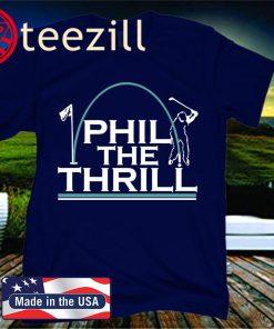 Phil the Thrill Golf T-Shirt