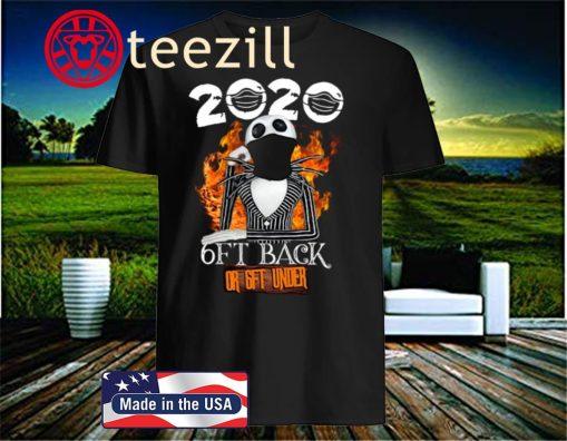 HLLOWEEN JACK SKELLINGTON 2020 6FT BACK OR 6FT UNDER T-SHIRT