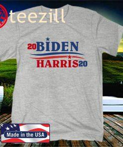 Joe Biden - Kamala Harris 2020 Presidential Election Graphic Unisex Shirt