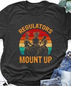 Regulators Mount Up Hocus Pocus Halloween Vintage Tshirt