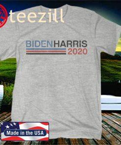 Retro Biden Harris Retro Stripe Biden Harris Premiumt Unisex Shirt