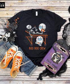 Boo Boo Crew shirt, nurse, doctor, paramedic, emt, halloween shirt, trick or treat, happy halloween, mens, womens, unisex