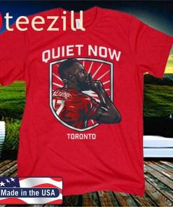 Jozy Altidore Quiet Now Shirt, Toronto 2020