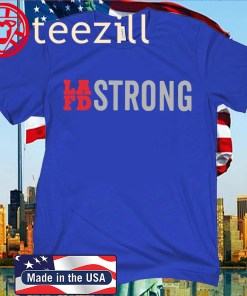 LAFD STRONG OFFICIAL T-SHIRT