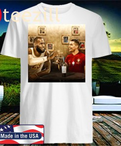Lebron James And Cristiano Ronaldo 35 Years Old Official T-Shirt