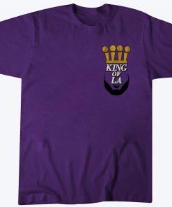 King of L.A Shirt - L.A Basketball Champs 2020