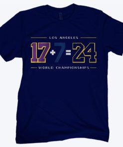 LA24 Shirt - Los Angeles Baseball & Basketball World Championships T-Shirt
