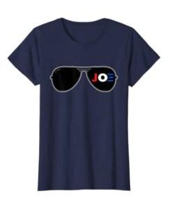 Joe Biden Aviator Sunglasses Patriotic American Unisex Shirt