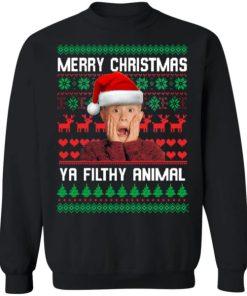 Kevin McCallister Merry Christmas Ya Filthy Animal Christmas 2020 Sweatshirt