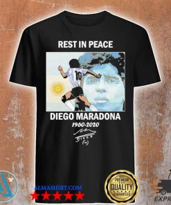 Rest in peace diego maradona 1960-2020 Shirts