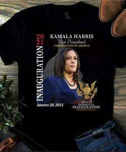 Kamala Harris 2021 Inauguration Day Commemorative Souvenir Shirt, Biden Harris Tee Shirt, 46th President Shirt, Joe Biden T-Shirt