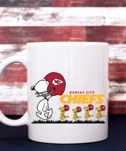 Kansas City Chiefs Snoopy Woodstock's Mug Coffee