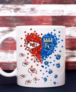 Kansas City KC Chiefs Kc Royals Coffee Mug Team