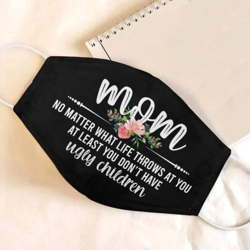 2021 Mom face mask, Mother's day mask, Mother's day gift 2021