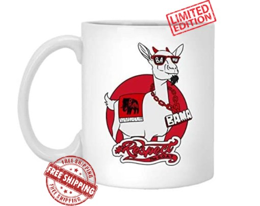 Goat Mugs for BAMA Sports Fans - Greatest of All Time Alabama College Football Team - Great Gifts for Men & Women & Any True Fan of The Game - Ceramic Coffee, Tea Cup