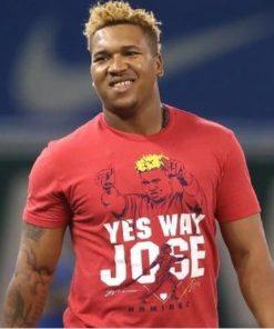 Jose Ramirez Yes Way Jose Shirt