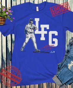 Gavin Lux LFG T-Shirts + Unisex, L.A. - MLBPA Licensed