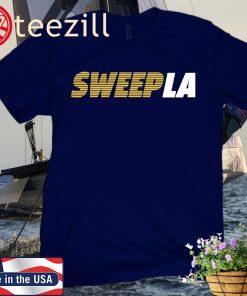 Sweep LA T-Shirt San Diego Baseball