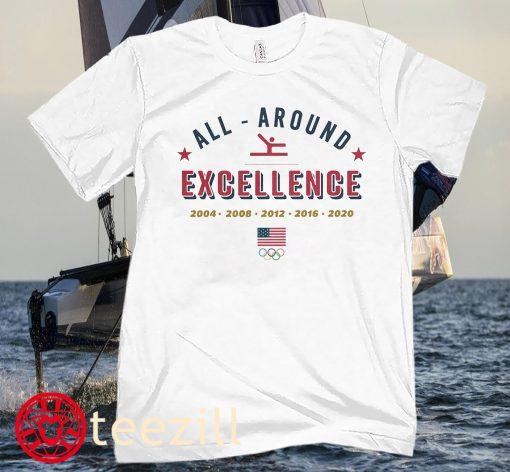 ALL AROUND EXCELLENCE 2021 TEAM SHIRT