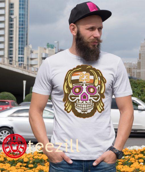 23 Fernando Tatis Jr. Sugar Skull Tee Shirt